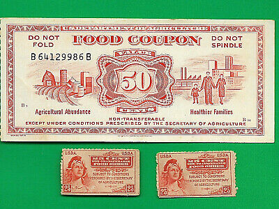 USDA FOOD STAMP COUPON USDA 1973  $0.50 FIFTY CENT Banknote USDA WELFARE scrip