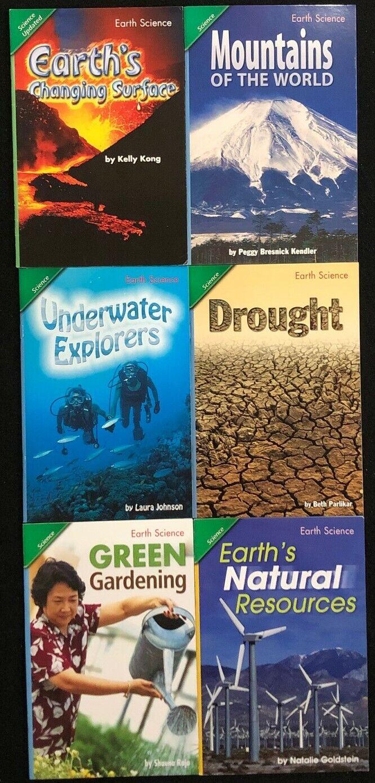 5th Grade EARTH SCIENCE Curriculum Readers (6 books) Teacher/Homeschool/Tutor 2
