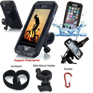 Iphone Holder For Bike >> Details About 360 Motorcycle Bike Phone Holder Waterproof Case Handlebar For Iphone Samsung