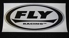 FLY RACING STICKER DECAL MOTORCROSS MOTO X DIRTBIKE MINIBIKE BMX BIKE HELMET