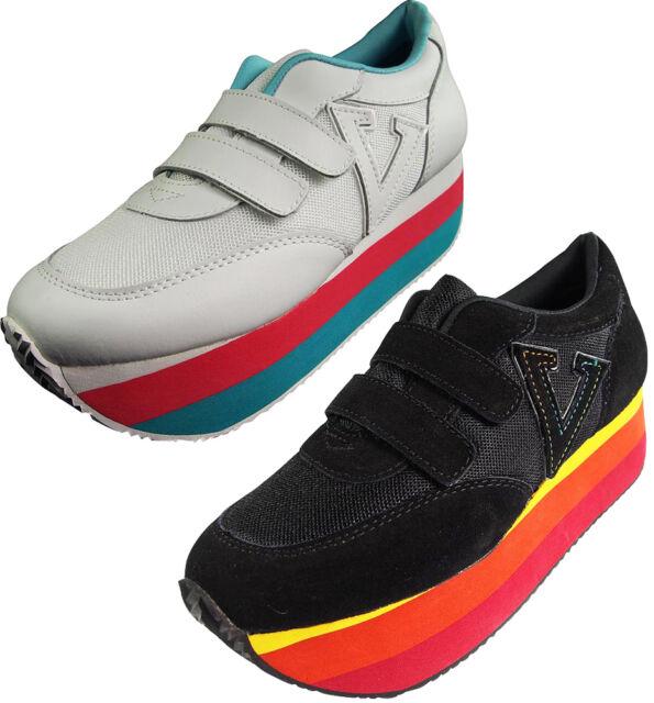 62530b95f7bf9 VOLATILE Sunset Women s Platform Wedge Shoes Runs Small Order 1 2 ...