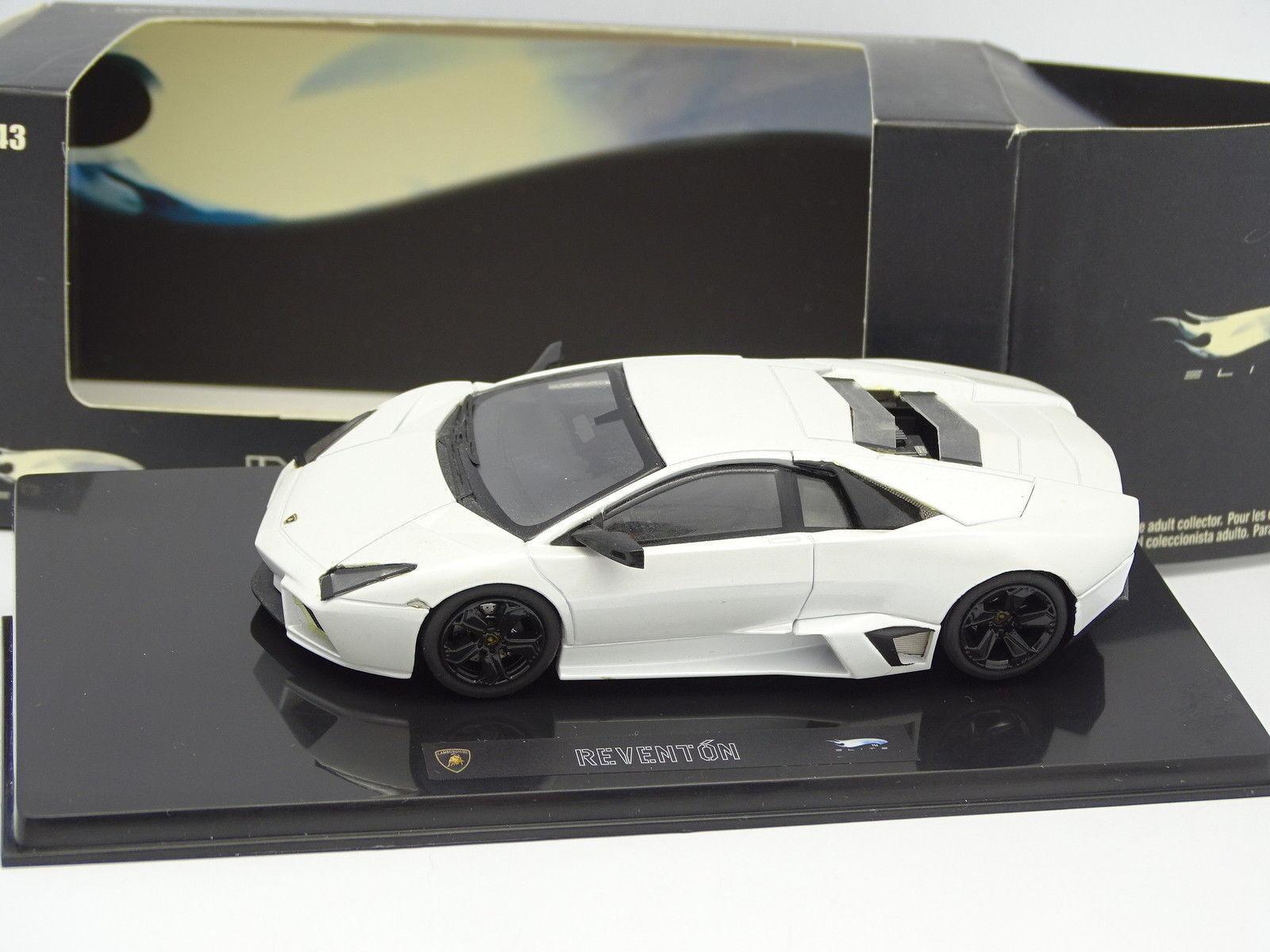 Großartig Räder 1 43 - Lamborghini Reventon Reventon Reventon white 40b914