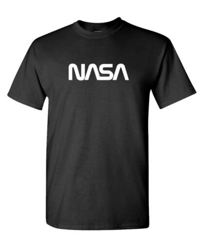 VINTAGE NASA LOGO Unisex Cotton T-Shirt Tee Shirt