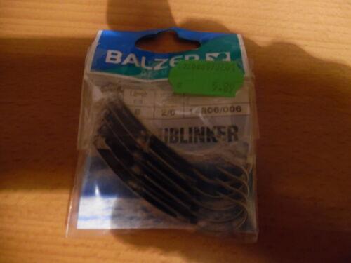 BALZER Dorschblinker 5 Stück silber Hakengr. 2//0 der Klassiker            DB1