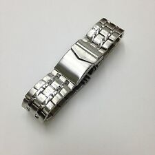 SARTEGO Genuine Solid Stainless Steel Diver Extension Watch Band Strap 24mm