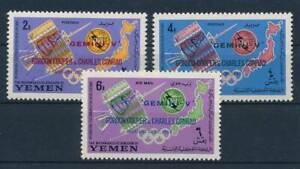 Fougueux 212794) Kgr. Yémen Nº 179-181 A ** Spatiale-afficher Le Titre D'origine