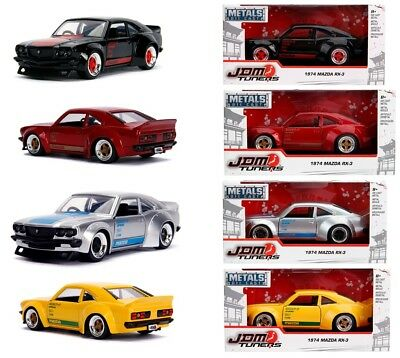 RX-3 -- 4 Colours Available JADA JDM 1:32 1974 Mazda RX3