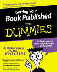 Getting Your Book Published for Dummies by Sarah Parsons Zackheim (Paperback, 2000)