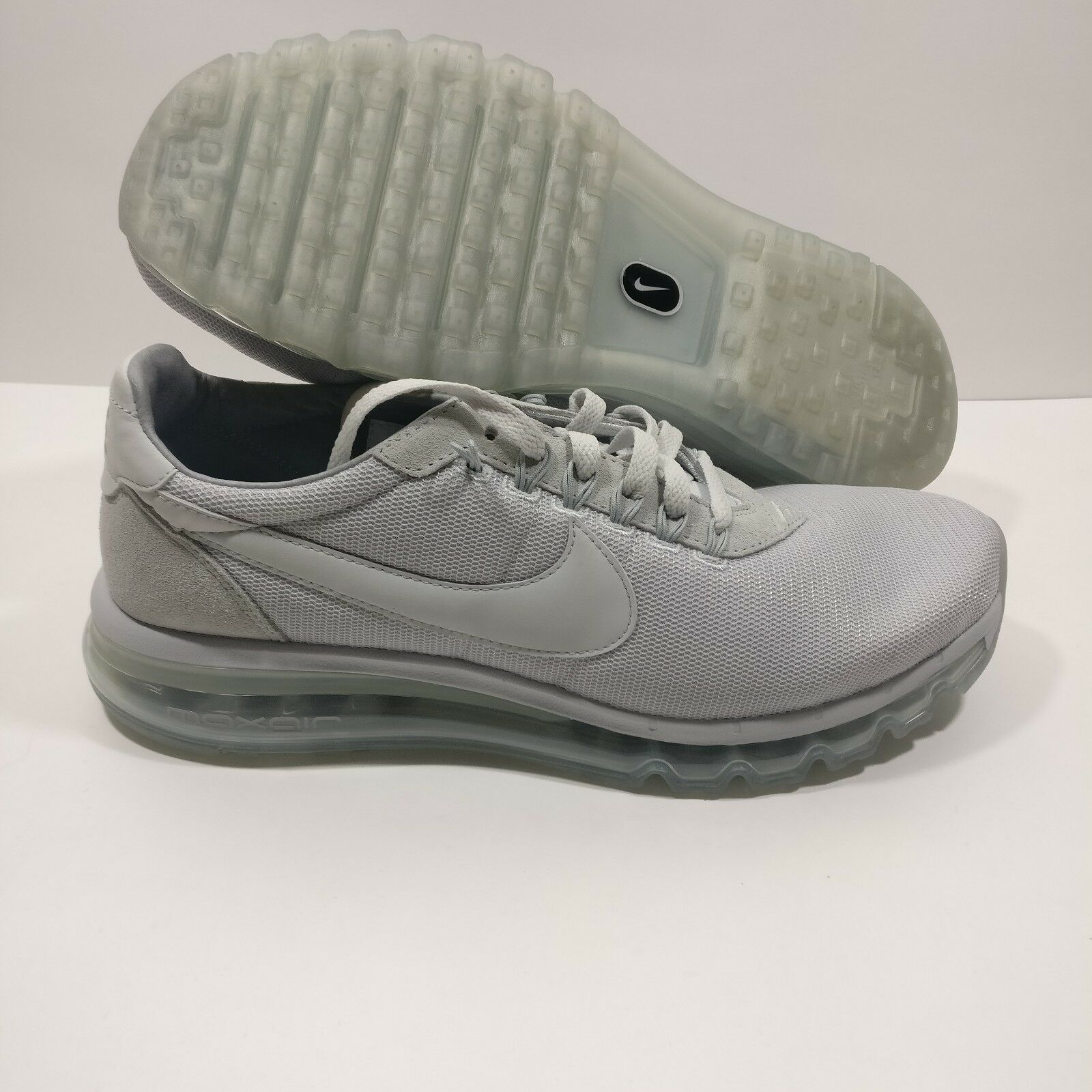 Mens Nike Air Max LD Zero Pure Platinum Grey White shoes 848624-004 Size 11.5