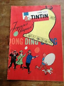 journal-tintin-france-649-1961-couverture-Herge-avec-cheque-tintin