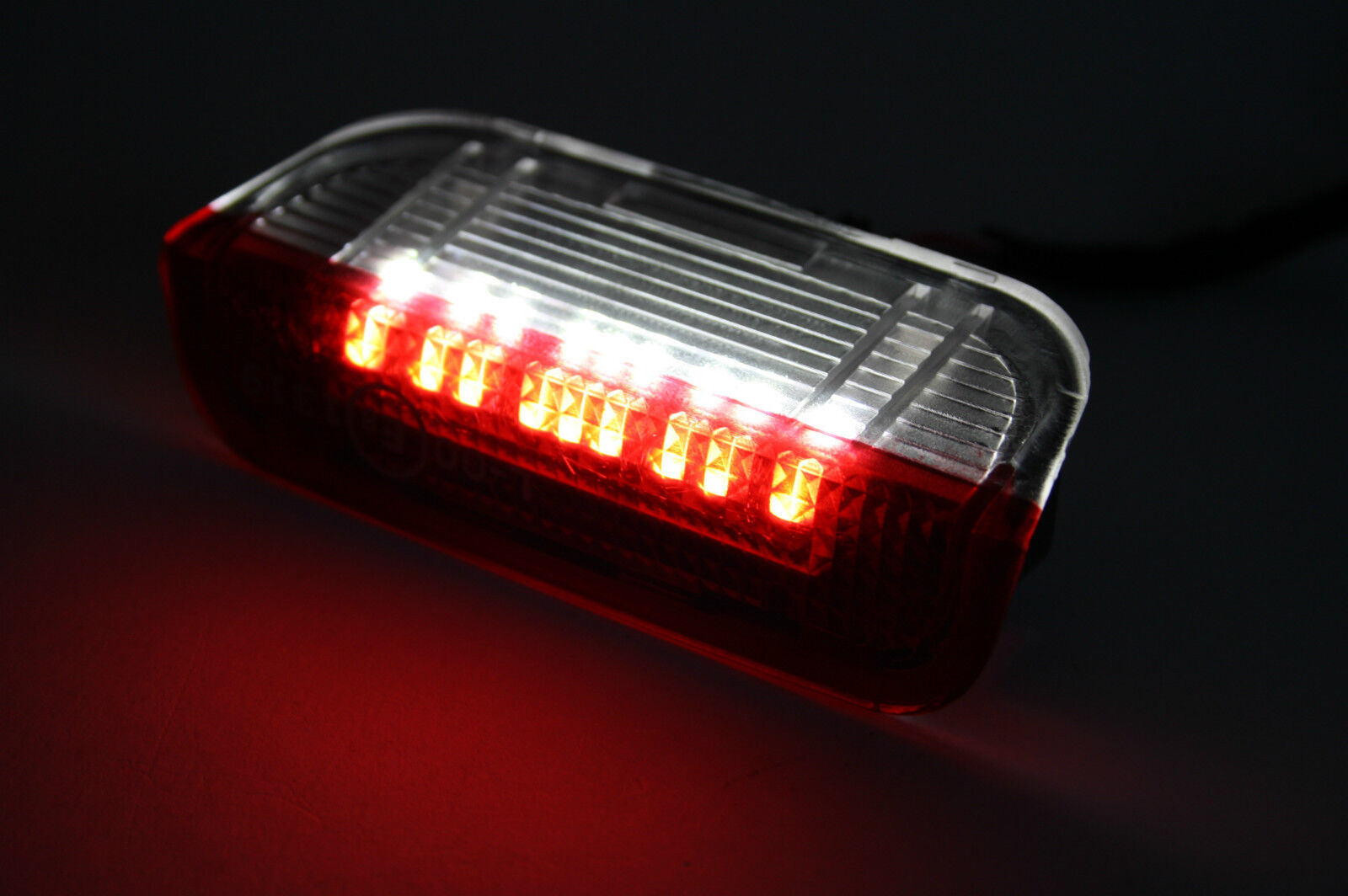 2x LED porta Türbeleuchtung entry-level illuminazione palude luce Can-Bus rosso bianco a552