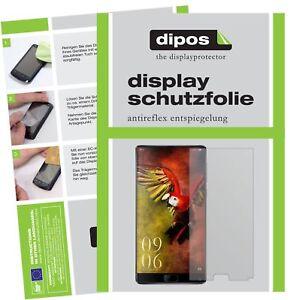 2x-Elephone-S8-Film-de-protection-d-039-ecran-protecteur-antireflet-dipos