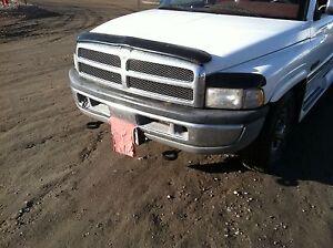 2001 Dodge Ram 2500 Bumper >> Dodge Ram Tow Hooks 94 95 96 97 98 99 2000 01 02 Tow Hook Set With Brackets Mud | eBay