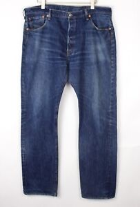 Vintage Levi's Strauss & Co Hommes 501 Jeans Jambe Droite Taille W40 L34