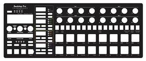 Overlay-Full-Size-black-fuer-Arturia-Beatstep-Pro-Firmware-2-0