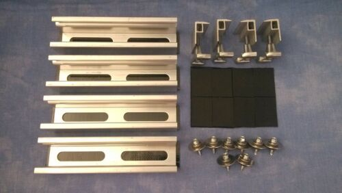 Solarmodul Befestigung Bitumen o Blechdach PV Halterung Montage 28-52mm Modul