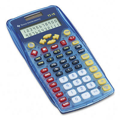 2 Line New Texas Instruments TI-15 Explorer Scientific Calculator