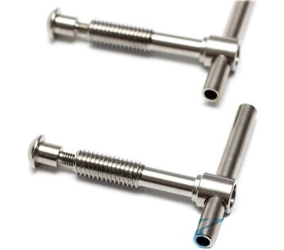 Lightweight Titanium Hinge Clamp Levers for Brompton Folding Bicycle F