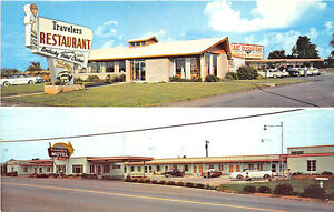 Old Hotel,Motel Postcard - Maryville, Tennessee