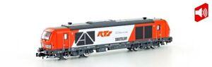 Hobbytrain-3109S-Diesellok-BR-247-902-Vectron-DE-RTS-mit-Sound-NEU-in-OVP