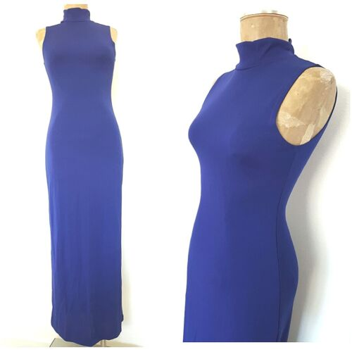 Vintage 90s Turtleneck Bandage Dress Size XSmall … - image 1