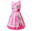 Girls-Skater-Dress-Kids-Frozen-Anna-Elsa-Print-Casual-Party-Birthday-Dresses-L3 thumbnail 2