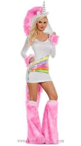 New Rainbow Unicorn Ladies Costume by Party King PK863 Costumania