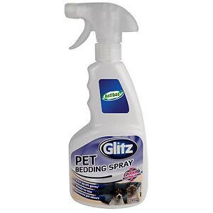 Glitz Pet Bedding Spray 750ml Eucalyptus Oil Kills 99 9
