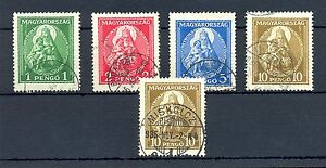 HUNGARY 1932 MI# 484/86 , 487 ( 2 x ) CV € 145 USED VF