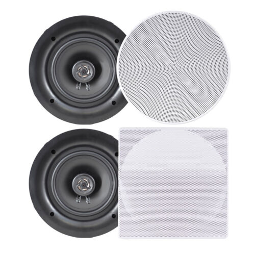 """LOT OF Pyle PPDIC56 5.25/"""" Flush Mount 2-Way 150W In-Wall//In-Ceiling Speakers 2"""