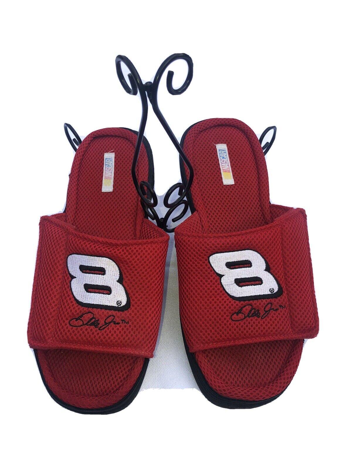 Dream Foams Men's Size 11, NASCAR Dale Earnhardt Jr #8, Slides, Sandals -Clean!