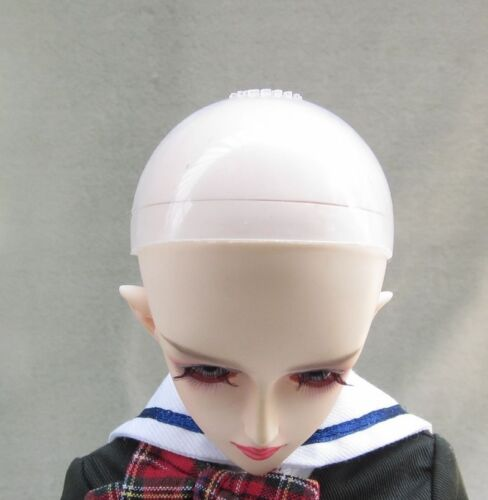 BJD Head Silicone Wig Cap 6-7 inch 1//6 YOSD Dollfie Doll Head Protection Cover