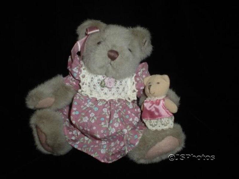Russ Berrie Mayfair Girl Bear Plush 1803 Fully Dressed