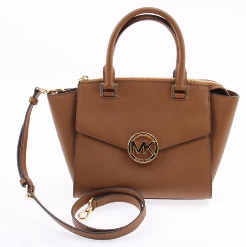 Michael Kors Hudson Medium Satchel Handbag Luggage 100 Original | eBay