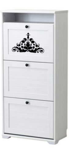 B2 Baroque Ornament Wall SIZES Reusable Stencil Wall Decor Pattern Style