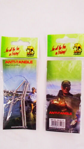 Anti-tangle espacement Chrome 7//10//20cm carpes pêcher pêche Feeder