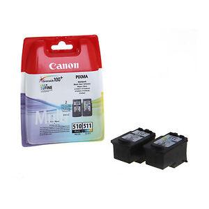 ORIGINALI-CANON-PG510-CL511-PER-Canon-Pixma-MX320-MP270-MX340-MX350-IP2700-MP495