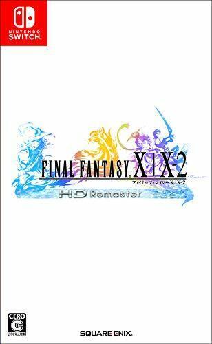 USED Nintendo Switch Final Fantasy X / X-2 HD Remaster Japan import