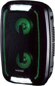 Daewoo-AVS1356-Rechargable-LED-Bluetooth-20W-Party-Speaker-Black-B