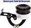 bocal-Liquide-frein-embrayage-noir-cnc-Reservoir-Maitre-Cylindre-MOTO-UNIVERSEL miniature 2