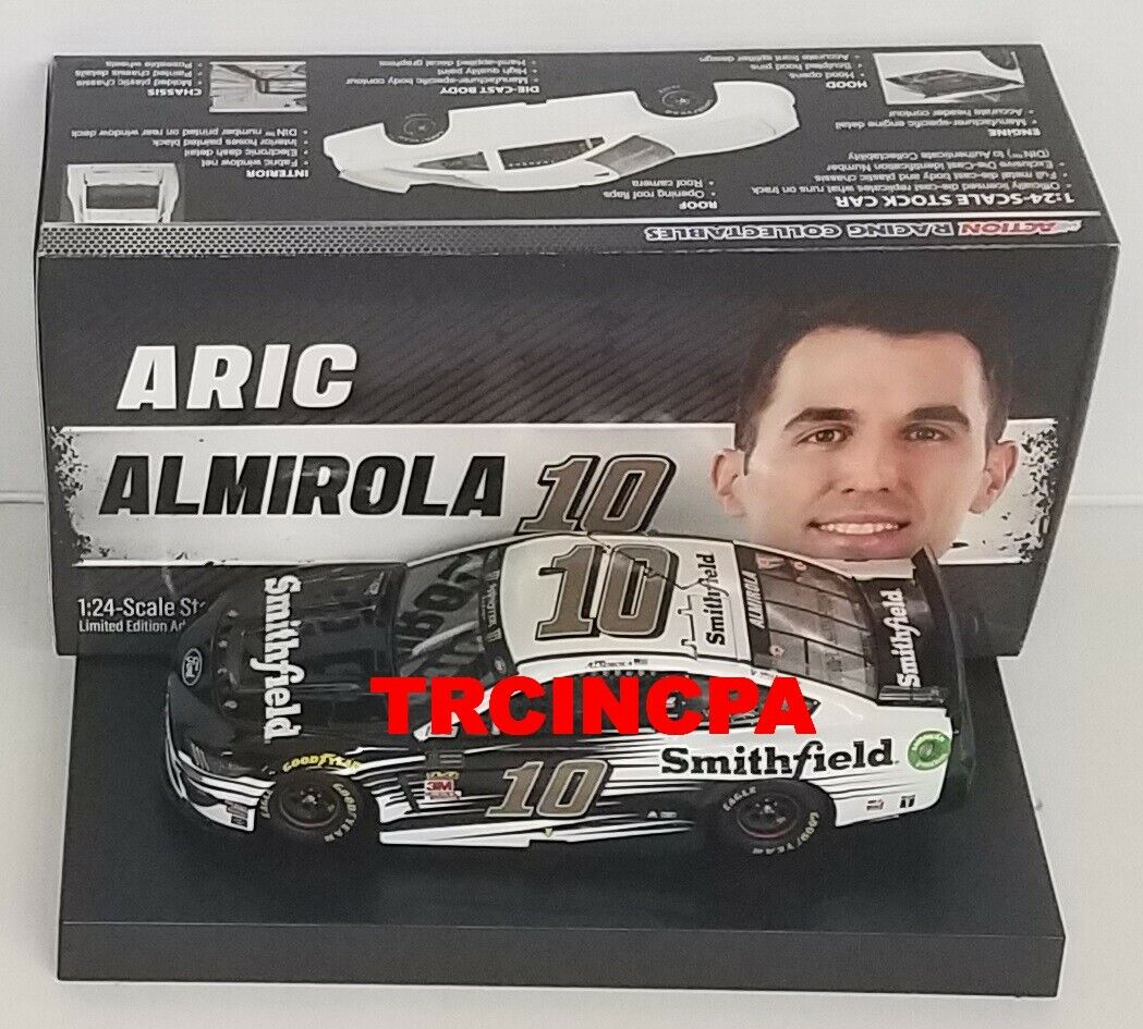 Aric Almirola 2019 Lionel  10 Smithfield Ford Mustang 1 24 FREE SHIP