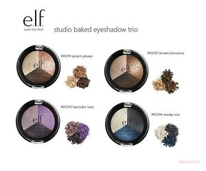 e-l-f-ELF-Baked-Eyeshadow-Trio-Pick-ur-Shade-New-in-Box-Full-Size