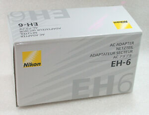 Genuine-NIKON-AC-Adapter-EH-6-For-Nikon-D200-D2H-D2Hs-D2X-D3-D3x