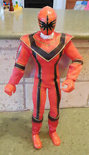"""13"""" Red Bandai POWER RANGER Removable Outfit Costume 2004/2005 Jointed Poseable"""
