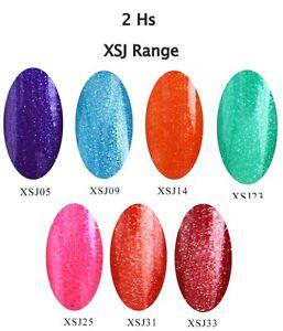 New-Bluesky-XJS-Glitter-UV-LED-Soak-Off-Gel-Nail-Polish