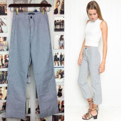 Nwt Pantaloni Bianco Rise Melville vita Blu Scorso elasticizzato a Brandy High bassa Tilden AOwfxn