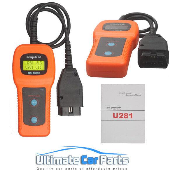 U281 Fault Code Diagnostic Scanner for VW AUDI SKODA Seat Airbag ABS Engine