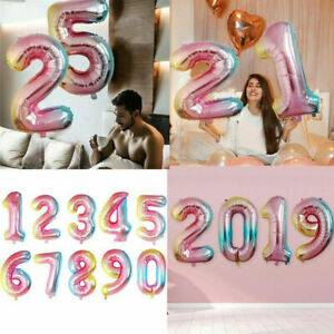 DIY-32-034-Giant-Foil-Number-Air-Helium-Large-Balloons-Birthday-Party-Wedding-Decor