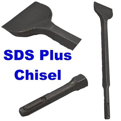 80mm Cranked SDS Tile removing TZ  DR376 plus Chisel for Hammer Power Drill