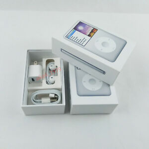 Original New Packaging Box For Apple Ipod Classic 7th Generation 160gb Silver Ebay
